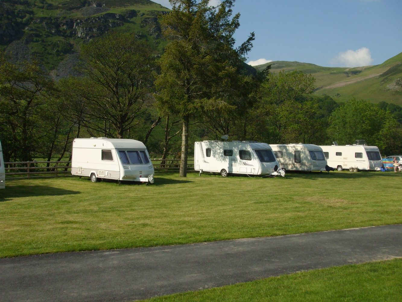 Tourers at Henstent Park