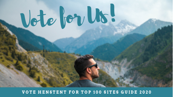 Vote for us in the Top 100 Sites 2020!